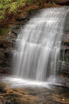 Photograph - Strands Of Silky Water by Debra and Dave Vanderlaan