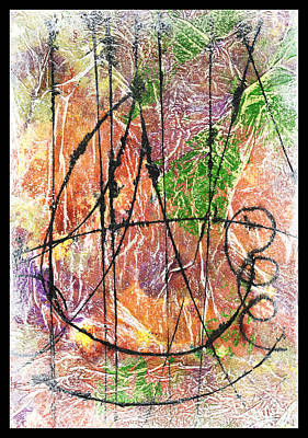 Mixed Media - Strang-er In The Night by Cyndi Lavin