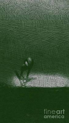 Fantasy Drawings - Strange Alien by Raphael Terra