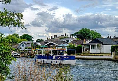 Photograph - Strange Boat by Lance Sheridan-Peel