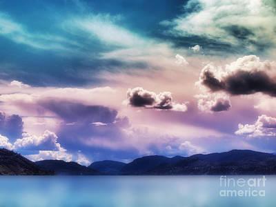 Skaha Lake Photograph - Strange Clouds 3 by Tara Turner