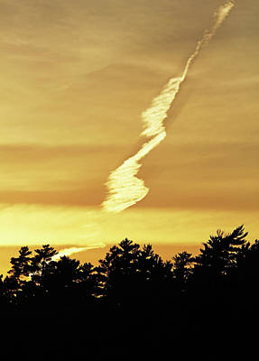 Photograph - Strange Clouds At Sunset I by Debbie Oppermann