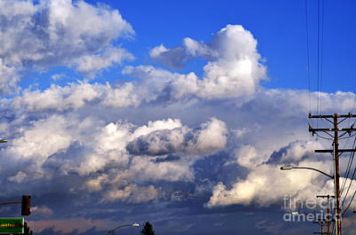 Photograph - Strange Clouds by Clayton Bruster