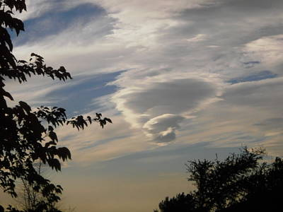 Photograph - Strange Clouds by Stephanie Moore