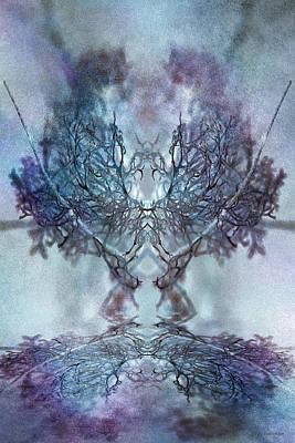 Digital Art - Strange Dance by WB Johnston