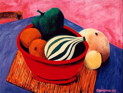 Painting - Strange Fruit by Dave Jones