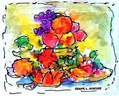 Painting - Strange Fruit by Frank Hunter