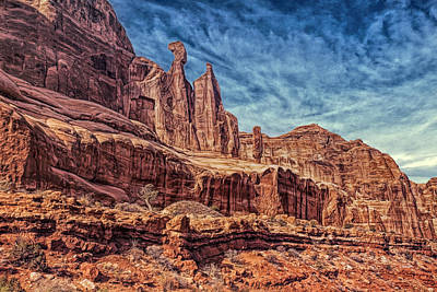 Terrain Photograph - Strange Land by John M Bailey