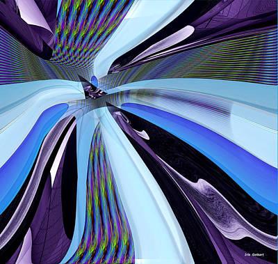 Digital Art - Strange New World by Iris Gelbart