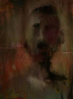 Digital Art - Stranger by Jim Vance