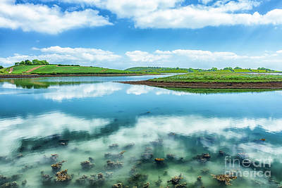 Photograph - Strangford Clouds by Jim Orr