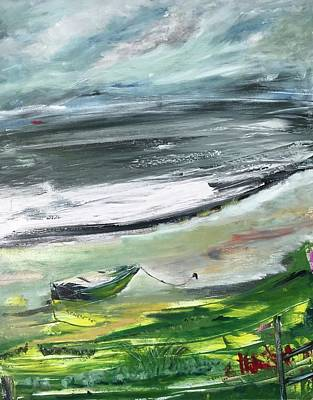 Painting - Strangford Lough, Co. Down Ireland by Mary Feeney