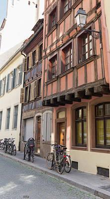 Photograph - Strasbourg Bikes by Teresa Mucha