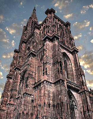 Photograph - Strasbourg Cathedral by Endre Balogh