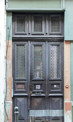 Photograph - Strasbourg Door 06 by Teresa Mucha