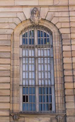 Photograph - Strasbourg Window 08 by Teresa Mucha