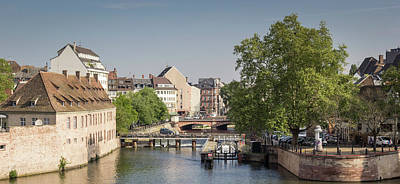 Photograph - Strasbourg Canal by Teresa Mucha