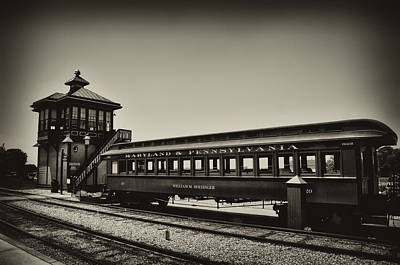 Strasburg Rail Road Art Print by Bill Cannon