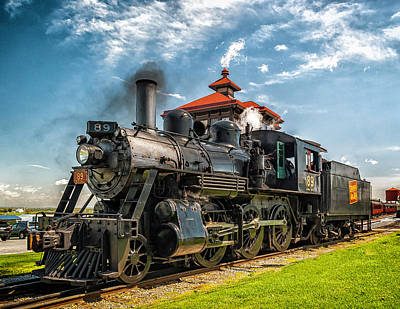 Photograph - Strasburg Railroad 89 E-10a  by Nick Zelinsky