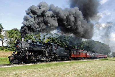 Strasburg Railroad Art Print by Dan Myers
