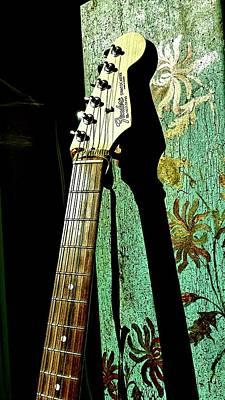 Stratocaster Mixed Media - Strat 1 by Priscilla Huber