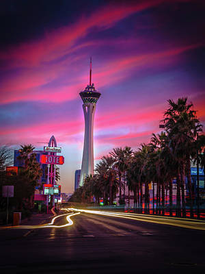 Photograph - Strat Sunset by Mark Dunton