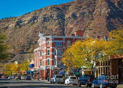 Durango Photograph - Strater Hotel by Inge Johnsson