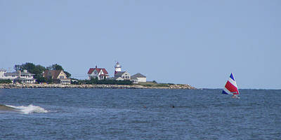 Photograph - Stratford Ct Lighthouse by Margie Avellino