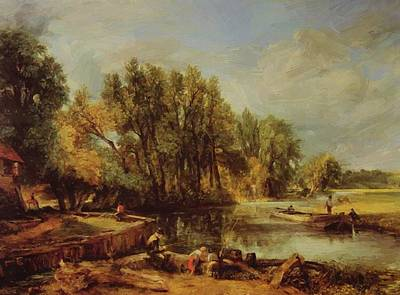 Painting - Stratford Mill by Constable John