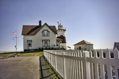 Stratford Photograph - Stratford Point Lighthouse by Phyllis Taylor
