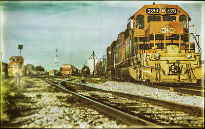 Photograph - Stratford Rail Yard 2016 by Will Bailey