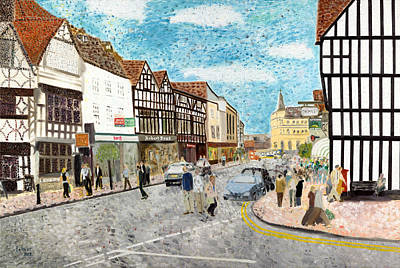Stratford Upon Avon England Original by Avi Lehrer