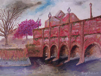 Oil Painting - Stratford Upon Avon by Roxy Rich