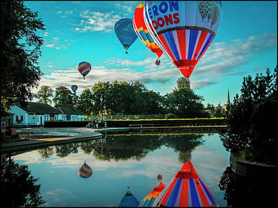 Photograph - Strathaven Balloon Festival by Alex Saunders