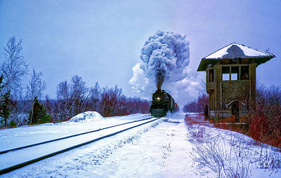 Photograph - Steam, Town, Historic, Site, Scranton, Pennsylvania   by Tom Jelen