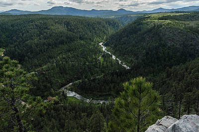 Photograph - Stratobowl Overlook On Spring Creek by Dakota Light Photography By Dakota