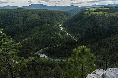 Stratobowl Overlook On Spring Creek Art Print