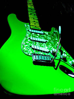 Photograph - Stratocaster Plus Pop Art  by Guitar Wacky