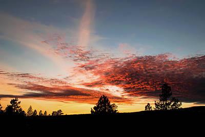 Stratocumulus Sunset Art Print