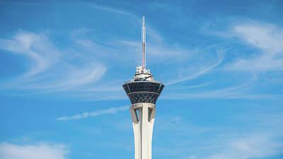 Photograph - Stratosphere Las Vegas Nevada by Lawrence S Richardson Jr