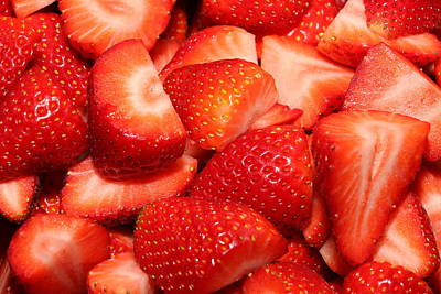Photograph - Strawberries 32 by Michael Fryd