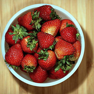 Photograph - Strawberries by Joseph Skompski