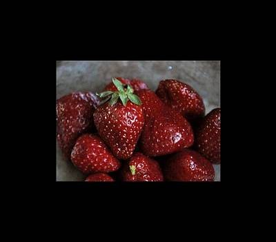 Photograph - Strawberries by Marija Djedovic