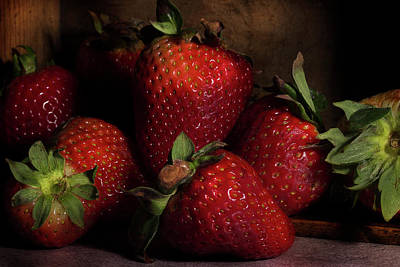 Photograph - Strawberries by Mike Eingle