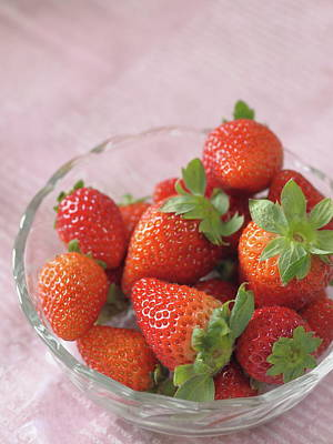 Photograph - Strawberries by Rachel Mirror