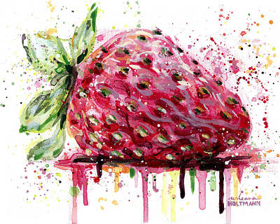 Strawberry 2 Art Print