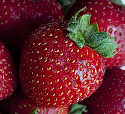 Strawberry 3 Art Print