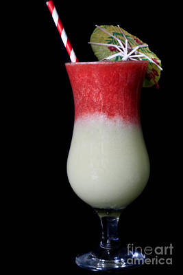 Strawberry And Melon Smoothie Original by Tracy Hall