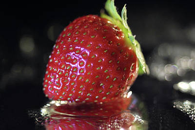 Photograph - Strawberry by Angela Murdock