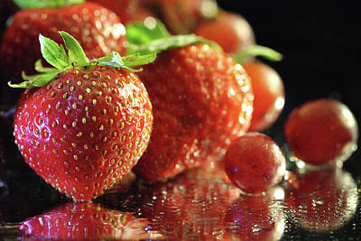 Photograph - Strawberry Delight by Angela Murdock